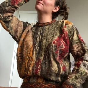 Coogi Classics Fall Colors Sweater
